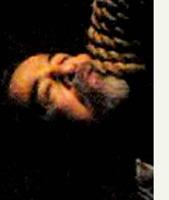La imagen, tomada por la cámara de un teléfono celular y difundida ayer por la cadena Al Iraqiya, muestra a Saddam Hussein poco después de que fue ahorcado